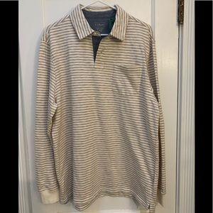 NWT LLBean Mackworth Long Sleeve Fitted Shirt